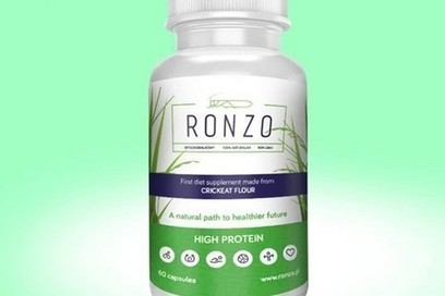 Polish startup Ronzo is designing capsules of cricket powder for bodybuilders | Entomophagy: Edible Insects and the Future of Food | Scoop.it