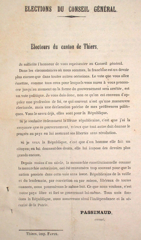 Jean-François Passenaud : un homme de parole | GenealoNet | Scoop.it