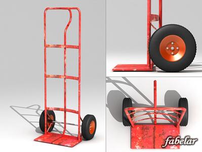 Chariot en 3D | 3D Library | Scoop.it