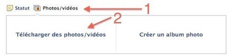 Publier une page de site internet sur Facebook en l'illustrant avec une photo | Web social | Scoop.it