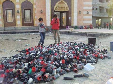 The spent CSgas canisters in One night's oppression in Bahrain! | Human Rights and the Will to be free | Scoop.it