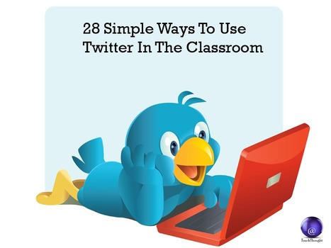 28 Simple Ways To Use Twitter In The Classroom | Initial teacher training | Scoop.it