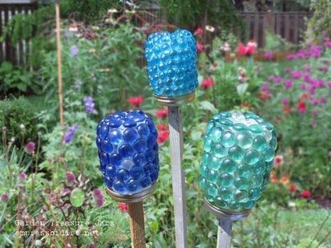 Garden Treasure Jars | Artfully Reimagined | Scoop.it