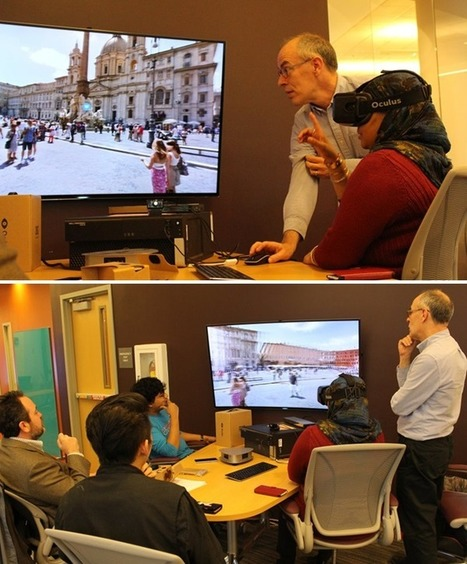 The Promise of Virtual Reality in Higher Education | Educacion Tecnologia | Scoop.it