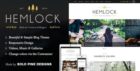 10 Most Popular Blog and Magazine WordPress The... | Collection of creative themes and templates. | Scoop.it