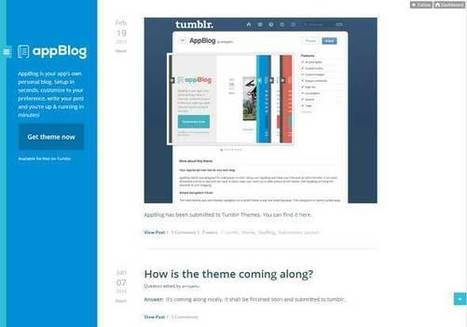 40 Best Free Tumblr Themes You Should Check Out   El Mundo del Diseño Gráfico   Scoop.it