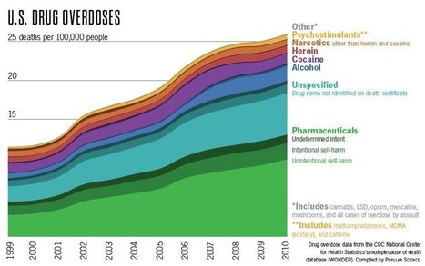 Which Drugs Actually Kill Americans [Infographic] | enjoy yourself | Scoop.it
