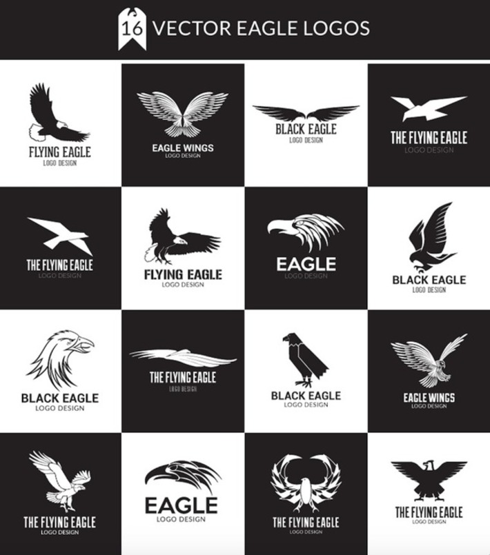 Eagle Logo Design Pack | Best PSD Freebies | ❤ Social Media Art ❤ | Scoop.it