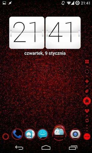 TSF Shell Theme Holo Red v1.9.2 - E-Mobiles Community   Android ...   premium apps free via TwThomas   Scoop.it