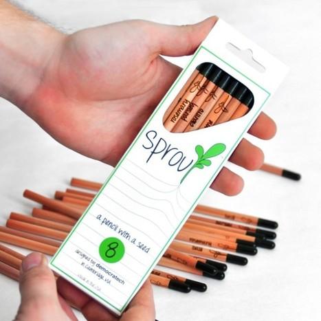 Sprout: el Lápiz que se Transforma en Planta | Regalos Originales | Green Stuff. | Scoop.it