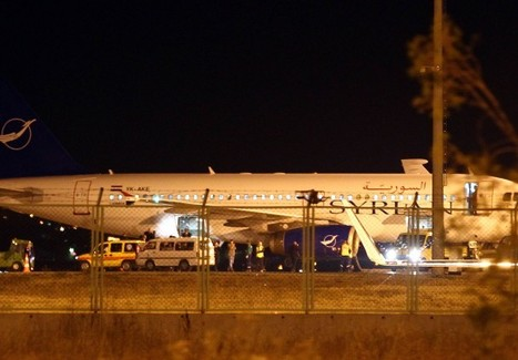 """Turkey seizes cargo """"of a military nature"""" from plane flying from Moscow to Damascus 