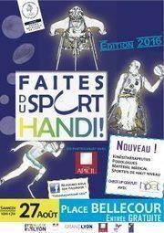 5e édition de « Faites du Sport Handi ! © » à Lyon | Handicap et emploi, handicap et société | Scoop.it