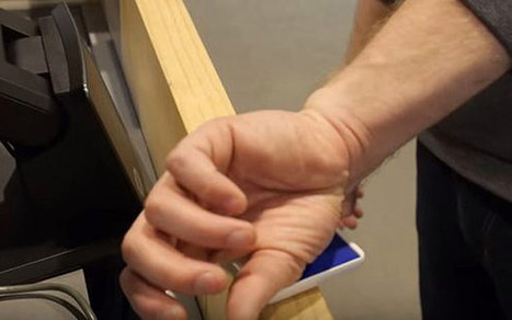 Man uses microchip implanted in Hand to pass through Airport Security | Technology in Business Today | Scoop.it