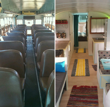 A Tiny Dream Home Created by Dad and Son with 90's School Bus | Financial literacy for teens | Scoop.it