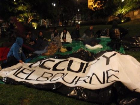 Occupy Melbourne sleeps under the stars | Australian Culture | Scoop.it