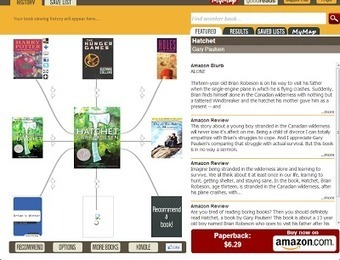 A Couple of Good Places for Students to Find Book Recommendations | Literacy Using Web 2.0 | Scoop.it