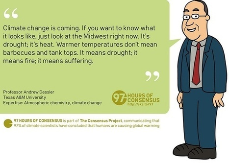The Scientific Consensus on Climate Change, Illustrated in Cartoons | Sustain Our Earth | Scoop.it