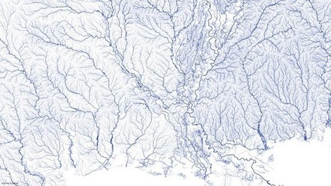 Infographic: An Astounding Map of Every River in America | Wired Design | Wired.com | Sustain Our Earth | Scoop.it