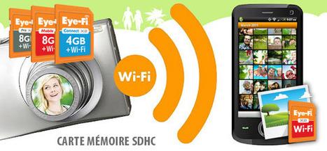 Carte mémoire 8 Go avec Wi-Fi b/g/n intégré | Application pour Tablettes Android | Scoop.it