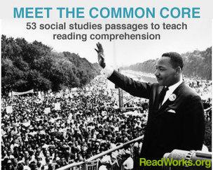 Social Studies Reading Passages | Common Core E... | Common Core Language Arts and Literacy | Scoop.it