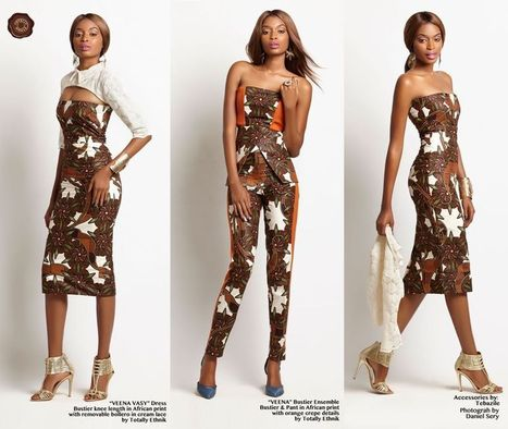 "Celebrating African Strength & Femininity! Totally Ethnik presents it's ""Vida"" Collection (PHOTOS) 