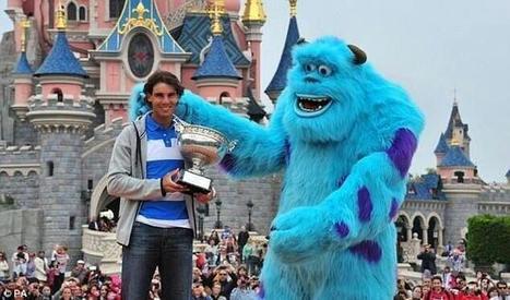 Twitter / TodoSobreTennis: Rafa Nadal en Disneyland París ... | Tenis99 | Scoop.it