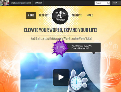 Promote4you: iWowWe >>> ELEVATE YOUR WORLD, EXPAND YOUR LIFE! | Promote4you | Scoop.it