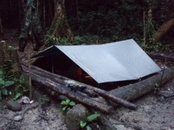 Tarp Shelter: The Simple A Frame Is Easy To Set Up | BOB to BOL by BOV | Scoop.it