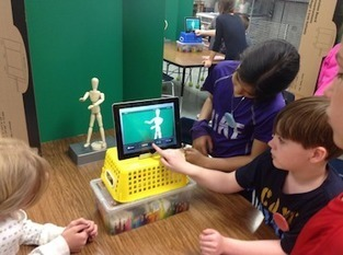 Arlington Heights SD25:  Students Create Green Screen Animation @fuglefun | PD & Articles | Scoop.it