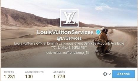 Louis Vuitton US répond à ses clients sur Twitter | CRM in luxury industry | Scoop.it