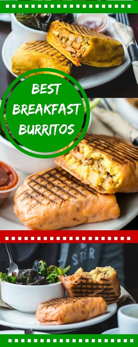 Best Breakfast Burrito Recipe   Best Easy Recipes   Scoop.it
