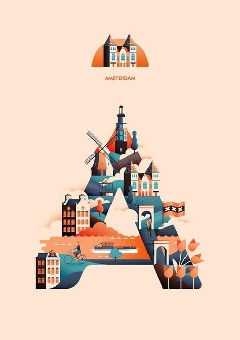 Weekly Inspiration for Designers #64 | El Mundo del Diseño Gráfico | Scoop.it