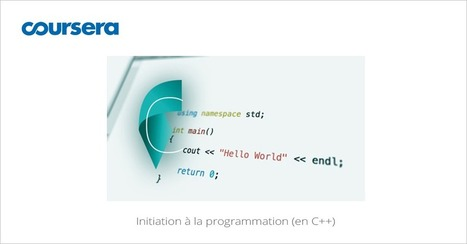 [Septembre] MOOC Initiation à la programmation en C++ | Kbec | Scoop.it