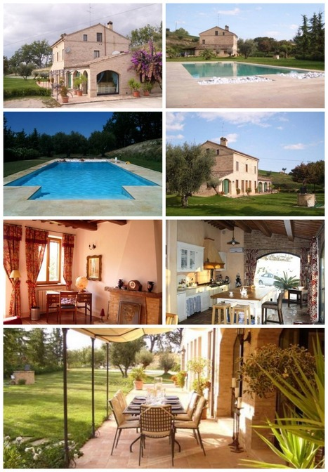 Best Le Marche Accommodation: Farmhouse, Mogliano | Vacanza In Italia - Vakantie In Italie - Holiday In Italy | Scoop.it