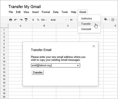 Transfer your Gmail Messages to Another Email Address | Time to Learn | Scoop.it