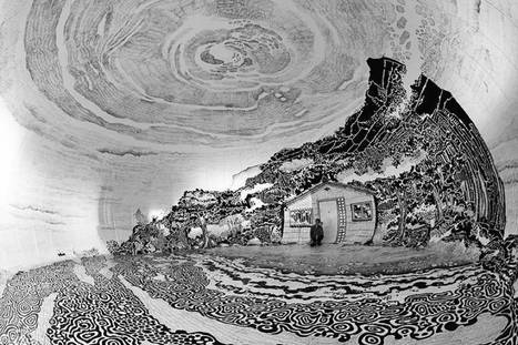 Panoramic Japanese Landscape Inside an Inflatable Dome | Mangas, littérature et culture d'Asie | Scoop.it