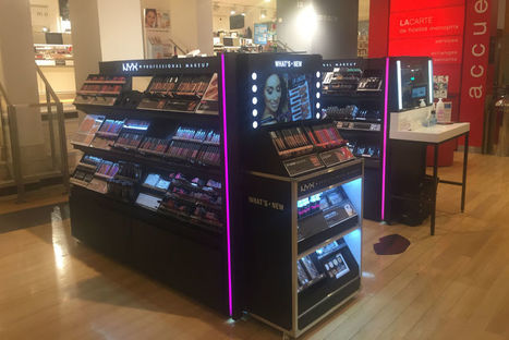 Monoprix, Le Printemps : Nyx diversifie sa distribution | Retail Intelligence® | Scoop.it
