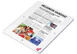 Finnish media companies develop a new kind of digital paper | Creative Communication News | Scoop.it
