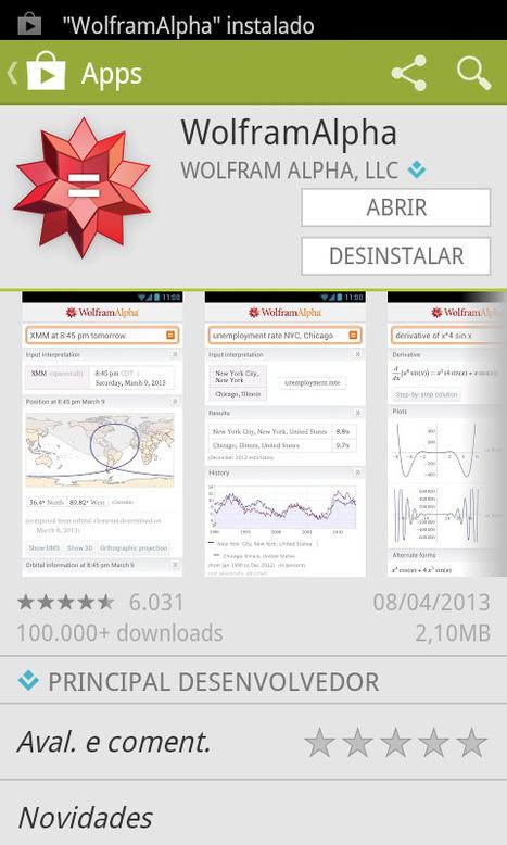Comprar o aplicativo Wolfram Alpha para smartphone vale cada centavo - Prof. Edigley Alexandre | Prof. Edigley Alexandre | Scoop.it