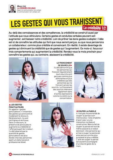 Les gestes qui nous trahissent | Communication non-verbale | Scoop.it
