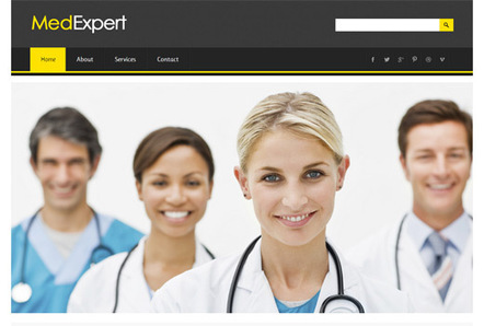 MedExpert Hospital Responsive web template and Mobile Website Template by w3layouts | tempdown | Scoop.it
