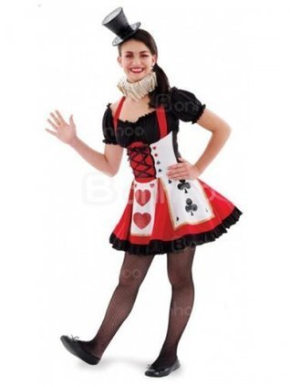 Alice in Wonderland Cosplay Pretty Playing Card Adult Costume [4012012] - $58.00 : Shopping Cheap Dresses,Costumes,Quality products from China Best Online Wholesale Store | Alice in the country of hearts cosplay costumes | Scoop.it