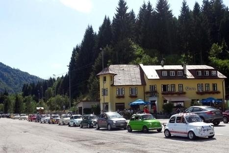 Un weekend tra le montagne friulane a bordo della mitica Fiat 500 | Fiat 500 | Scoop.it