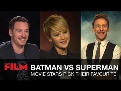 Actores y actrices eligen a su favorito entre Batman/Superman | DC ... | Cómics y lectura | Scoop.it