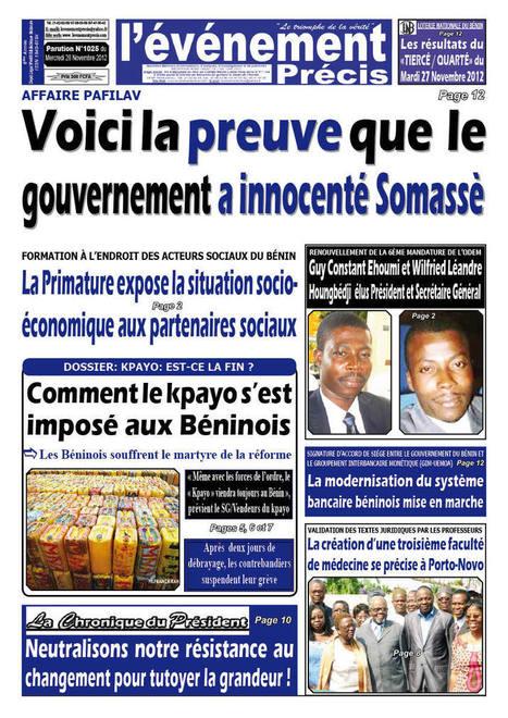 Préparatifs du dernier tour qualificatif Can U-20 Bénin-Sénégal:Les ... | Le Bénin et les éliminatoires CAN 2012 | Scoop.it