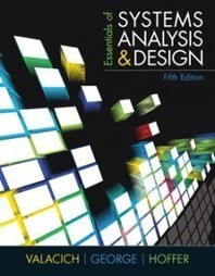 Test Bank For » Test Bank for Essentials of Systems Analysis and Design, 5th Edition: Valacich Download | Management Information Systems Test Banks | Scoop.it