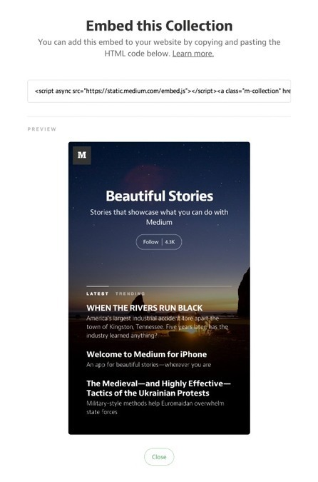 Medium.com : Mode d'emploi – En français | Les outils de la com' digitale | Scoop.it