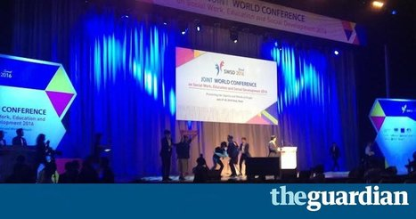 Disabled people stage protest at world social work conference | Social services news | Scoop.it