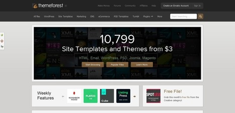 Top 4 Wordpress Market Place for Premium Themes and Plugins » W3 Experts | wordpress | Scoop.it