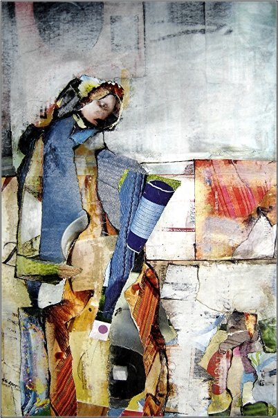 Guy Garnier | Painter | Collage | les Artistes du Web | Scoop.it